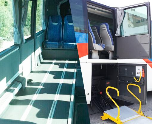 Transporte integral para discapacitados alquiler de for Sillas para guaguas