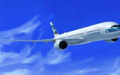 Bienvenido Cathay Pacific