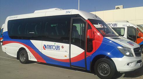 Minibuses 19 plazas de Estreno