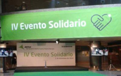 Colaboramos en el IV Evento Solidario de AENA