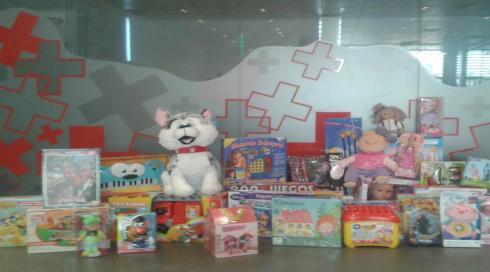 Un juguete para cada niño – Cruz Roja