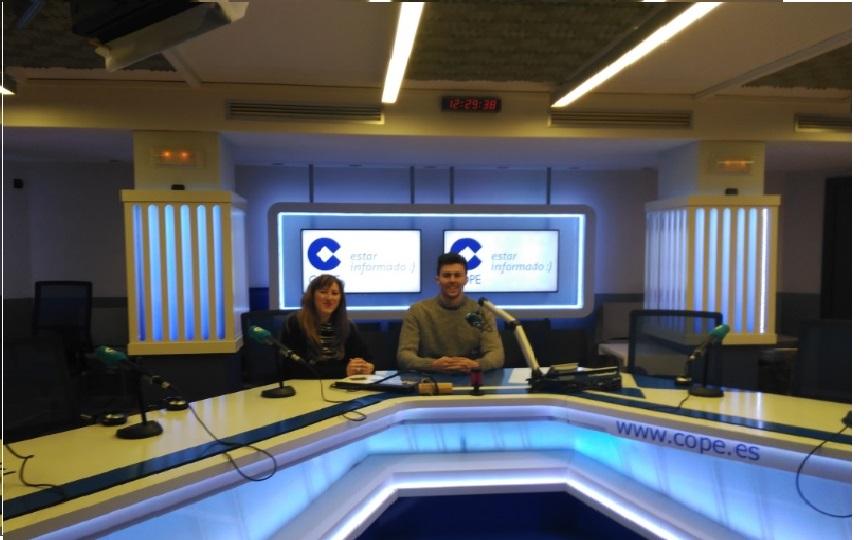 Maitours presenta sus servicios en la radio, Cope Madrid