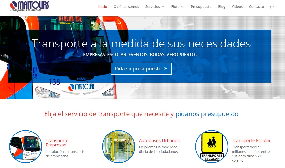 Nueva web Maitours