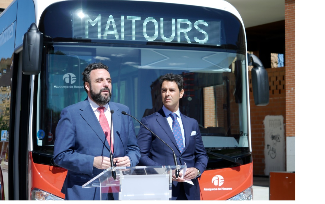(Español) Transporte público urbano en Azuqueca